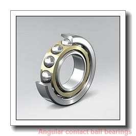 17 mm x 40 mm x 12 mm  FAG 7203-B-TVP Angular Contact Bearings