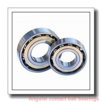 35 mm x 80 mm x 1.3750 in  NSK 5307 C3 Angular Contact Bearings