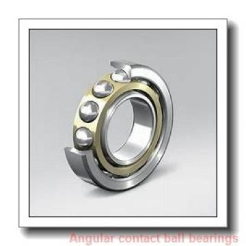 20 mm x 52 mm x 22.2 mm  Rollway 3304 C3 Angular Contact Bearings