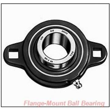 1.6250 in x 4.3750 in x 5.2500 in  Dodge FCSC110 Flange-Mount Ball Bearing