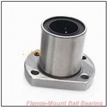 1.1875 in x 3.5625 in x 4.4400 in  Dodge LFSC103NL Flange-Mount Ball Bearing