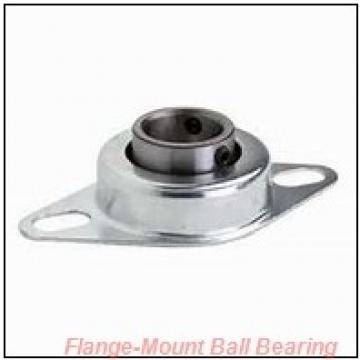 0.9375 in x 1.6250 in x 2.7500 in  Dodge FBSC015 Flange-Mount Ball Bearing