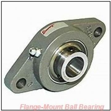 0.8750 in x 1.6250 in x 2.7500 in  Dodge FBSC014 Flange-Mount Ball Bearing
