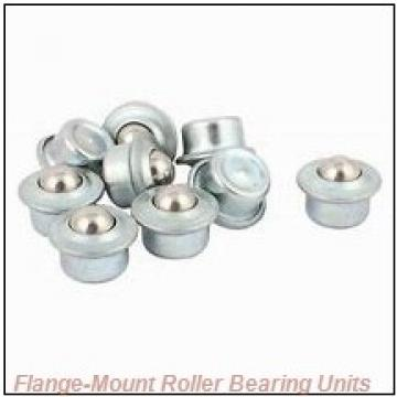 2 in x 4.3800 in x 5.6300 in  Dodge F4BE200R Flange-Mount Roller Bearing Units